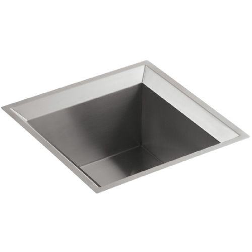Kohler Poise Stainless Steel Single Bowl Kitchen Sink - 3391-NA